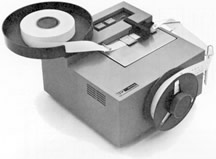 The IBM 1055 paper tape punch